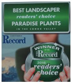 Record Landscaper Award