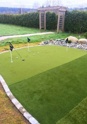 Synlawn Putting Green Demo