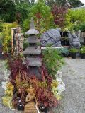 Pagoda & Reclining Head